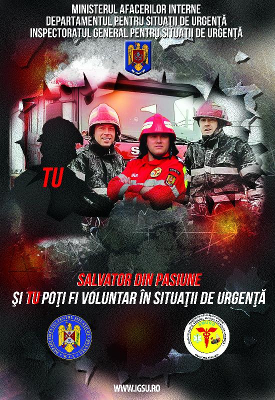 Voluntariat in cadrul I.S.U. Hunedoara